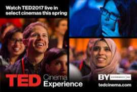 Ted Cinema Experience: Opening Even 2017